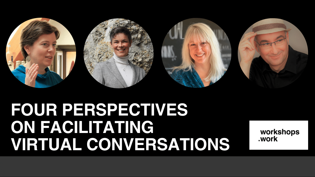 Four Perspectives on Facilitating Virtual Conversations