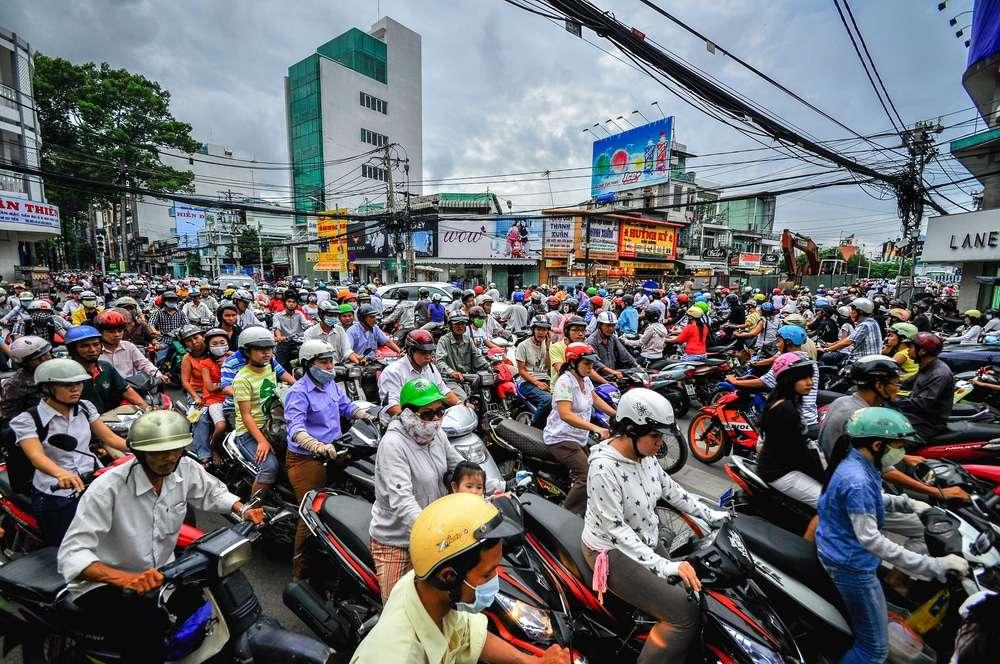 traffic in Saigon Myriam blog idayz