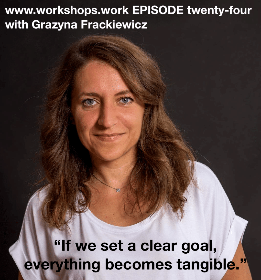 Grazyna Frackiewicz workshopswork